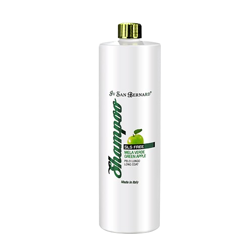 shampoo de manzana verde